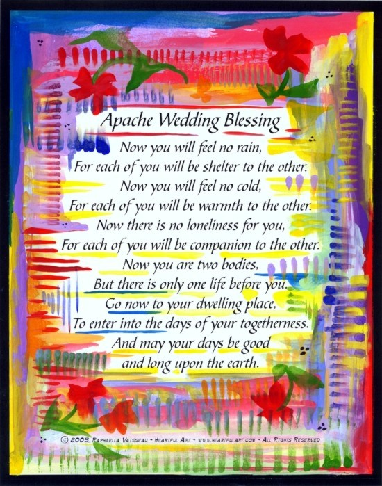 Heartful Art's Wedding Poems, Prayers and Blessings are available in many formats